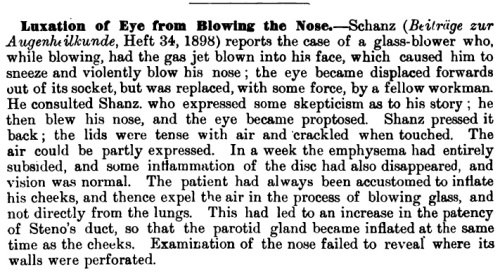 luxation-of-eye-from-blowing-the-nose